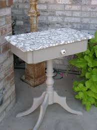 diy tabletop ideas. paisley stencil for diy furniture painting diy tabletop ideas e