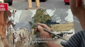 oil sketches dvd by peter brown