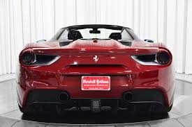 Read about 488 on road price, reviews, variants & features. Used 2018 Ferrari 488 Spider For Sale Sold Marshall Goldman Beverly Hills Stock B21486