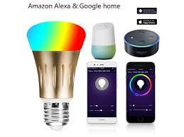 <b>Smart bulb 7W E27</b> Wifi Smart LED Light Wireless Bulb Lamp Works ...