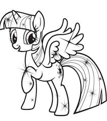 My Little Pony Coloring And My Little Pony Coloring Pages Pdf