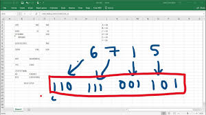 Binary Octal Hexadecimal Chart Number System Conversions With Excel Binary Decimal Octal Hexadecimal