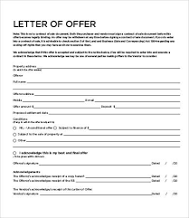12+ Sample Offer Letters - Free Sample, Example, Format | Free ...