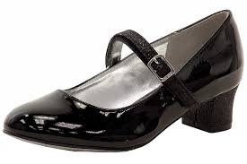 nine west girl s pumped up glitter patent leather mary janes shoes fashion footware