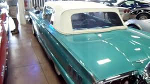 1960 Ford Thunderbird Convertible - Low Mileage Classic - YouTube