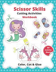 Finding fun activities for kids can be stressful and expensive, so we've collated some of our favourite printable activities that you can download for free. Scissor Skills Cutting Activities Workbook Coloring Cutting And Pasting For Kids Age 3 5 Sajamintreen 9798673456019 Amazon Com Books