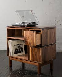 Cabinet Record Player Walnut Record Player Stand Record Player And Record Player Stand