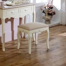 cream padded dressing table stool country ash range