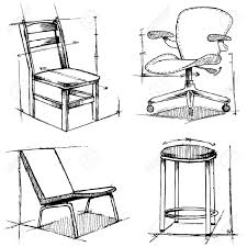 Furniture Sketches Marker Sketches Chair Designfurniture Furniture Design D