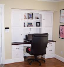 Wall Units, Built In Desk And Bookshelves Built In Desk Designs Modern  White Computer Desk