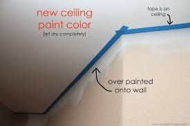 white ceiling paintHome Improvement Painting a Straight Line on Textured Walls a