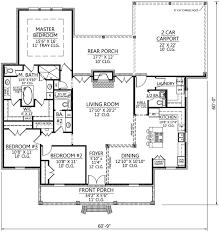 3 Bedroom Open Floor House Plans Ideas Best Inspiration Design