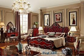 italian style bedroom furniture. Luxury Italian Style Red Solid Wood Carving Bedroom Furniture Set With King  Size Fabric Bed,