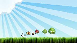 Angry Birds background image | Birds wallpaper hd, Bird wallpaper, Angry  birds