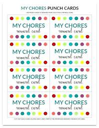 Free Punch Cards Template Reward Punch Card Template