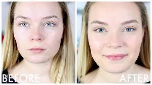 no makeup look tutorial