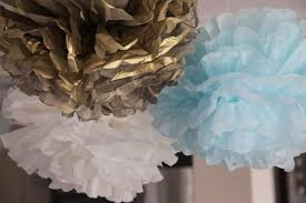 Blue And Gold Baby Shower Decorations Bubble And Sweet Blue Ruffle Birdie Baby Shower