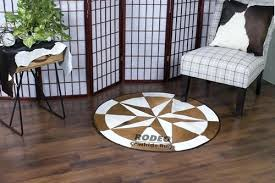 brown white patchwork rug rodeo cowhide rugs canada patchworks