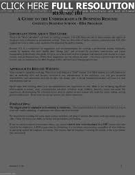 Education On Resume No Degree Resume Work Template