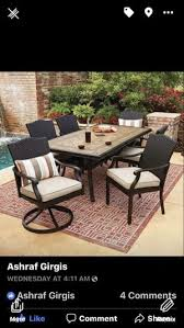 member mark agio 7 piece outdoor furniture for in la vergne tn
