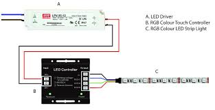 led driver wiring diagram wiring diagram Home LED Light Strip Wiring-Diagram rgb touch diagram 4 with led driver wiring diagram