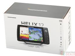 Buy Humminbird Helix 12x G1 Chirp Gps Fishfinder With