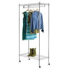 Style Selections Chrome Steel Garment Rack