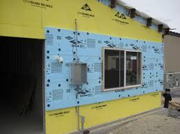 metal stud walls with densglass
