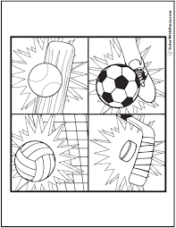 Do you prefer football ? 121 Sports Coloring Sheets Customize And Print Pdf