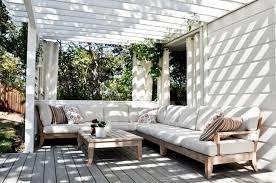summer outdoor furniture. Garden Ideas Design Outdoor Furniture Corner Sofa Of Wood Pergola Summer