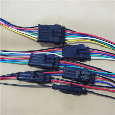 online buy whole automotive wiring harness connectors from 1pcs yt979 automotive wiring harness plug waterproof connector assembly plug and socket 10 20cm