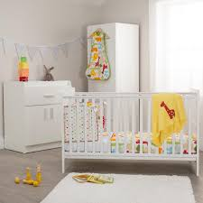 nursery white furniture. kiddicare chloe nursery furniture cot bed roomset white sticker