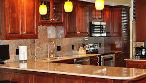Modern Cherry Kitchen Cabinets Ideas Design Wood Excellent