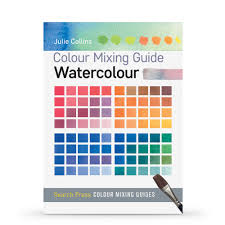 Artist Colour Mixing Chart Colour Mixing Guide Watercolour Book By Julie Collins