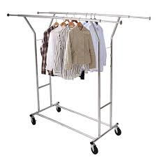 Cloth hanger stands Moveable Portable Doublebar Steel Clothes Hanger Stand Trolley Type Clothes Drying Rack Moveable Clothing Rack Aliexpress Portable Double Bar Steel Clothes Hanger Stand Trolley Type Clothes