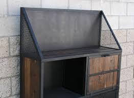 Industrial Bar Cabinet Combine 9 Industrial Furniture Urban Modern Bar Cart