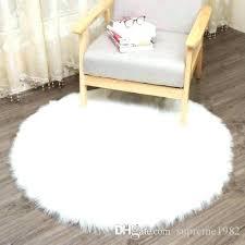 furniture faux skin rug soft sheepskin plain fluffy fur white cowhide grey and amazing