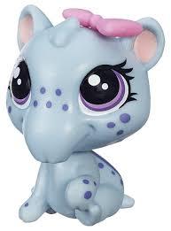 <b>Фигурка</b> Littlest Pet Shop Тапир Ирина с бантиком B2166 ...