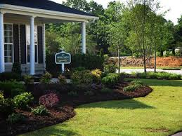 Landscaping Design Ideas For Front Of House Landscape Designs For Front Of House On 736x552 Landscaping Ideas For Front Yard Corner
