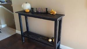 distressed entry table. black entryway tables distressed table entry e