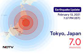 Earthquake near Tokyo, Japan Today with ...
