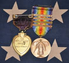how are medals lost purple hearts