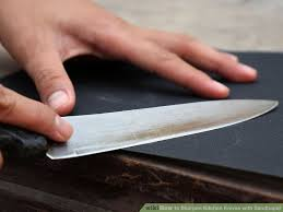 How To Sharpen Kitchen Knives With Sandpaper 5 StepsSharpening Kitchen Knives