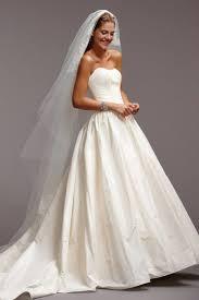classic strapless chapel train taffeta ball gown wedding dress awa0082