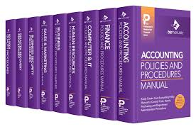Accounting Manual Template Free Download Free Sample Policies And Procedures Template