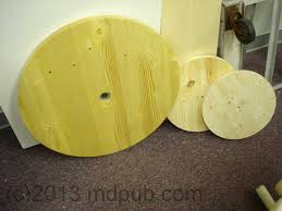 wooden circles of diffe sizes