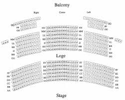 Seating Charts State Theatre
