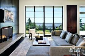 tvs over gas fireplaces are above too high architects mod hilltop design fireplace treatment roger wade