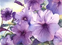 purple painting purple profusion by patricia henderson