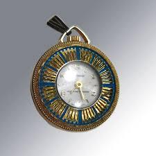vintage lucerne wind up watch pendant